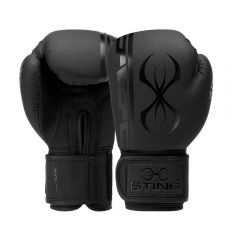 Sting Armaplus Training Boxing Gloves - Black-Black