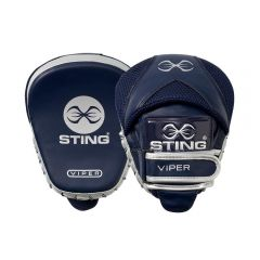 Sting Viper Speed Focus Mitts - Navy-Silver