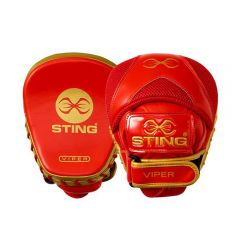 Sting Viper Speed Focus Mitts - Red-Gold