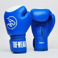 Tuf Wear Target Leather Safety Spar - Blue