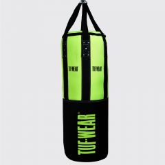 Tuf Wear 3.5FT 18inch Diameter Belts and Braces Punch Bag 40kg PU / Leather - Green