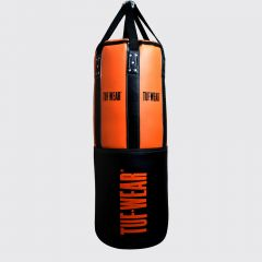 Tuf Wear 3.5FT 18inch Diameter Belts and Braces Punch Bag 40kg PU / Leather - Orange