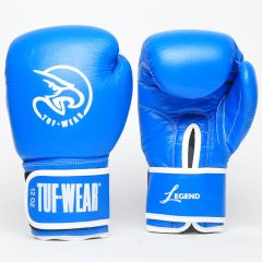 Tuf Wear Legend Leather Sparring Glove - Blue
