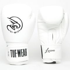 Tuf Wear Legend Leather Sparring Glove - White