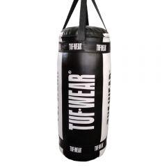 Tuf Wear Balboa Jumbo Punchbag 60KG  WHITE/BLACK