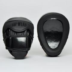 Tuf Wear Atom Curved Gel Hook & Jab Pads - Triple Black