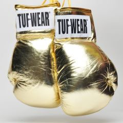 Tuf Wear Boxing Autograph Gloves - Gold