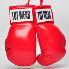 Tuf Wear Boxing Autograph Gloves - Red