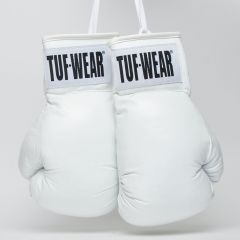 Tuf Wear Boxing Autograph Gloves - White