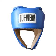 Tuf Wear PU Open Face Head Guard - Blue