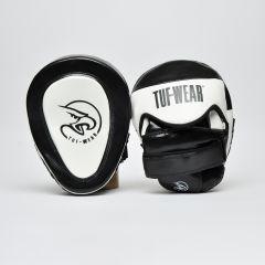 Tuf Wear Eagle Gel Curved Hook & Jab Pads-Black White