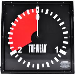 Tuf Wear 2 Minute Amateur Wall Clock