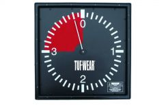 Tuf Wear 3 Minute Professional Wall Clock