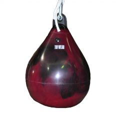 Tuf Wear Water Medium Punch Bag 46cm - Red