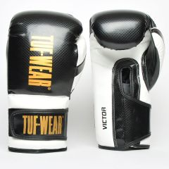 Tuf Wear Victor Training Glove Black White Gold
