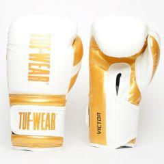 Tuf Wear Victor Training Glove White Gold