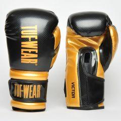 Tuf Wear Victor Training Glove Black Gold