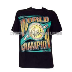 World Boxing Council 2015 Championship Belt T-Shirt Black
