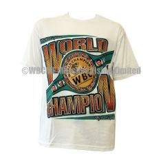 World Boxing Council 2015 Championship Belt T-Shirt White