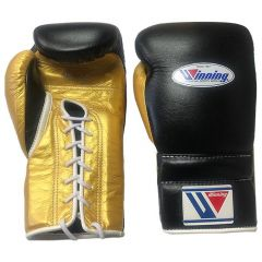 Winning Japan Boxing CO-MS-600 16oz - Lace Black Gold