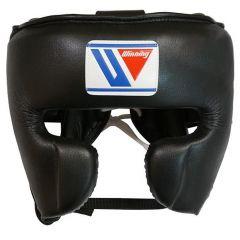 Winning Japan Boxing FG-2900 Headguard with Cheek - Black