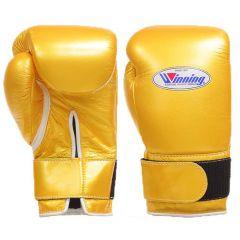 Winning Japan CO-MS Training Gloves - Velcro Gold