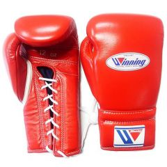 Winning Japan Boxing MS Training Gloves - Red Lace