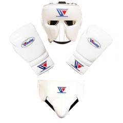Winning Japan Boxing Full Spar Set - White